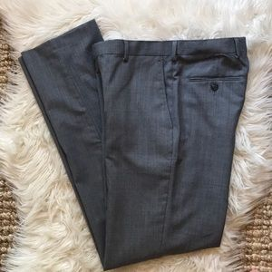 Michael Kors men's gray heather dress pants 29 w